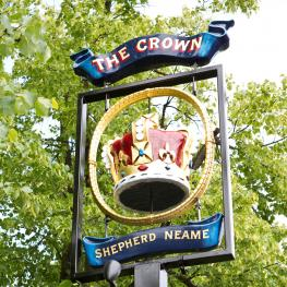 Crown, Blackheath - Swing Sign